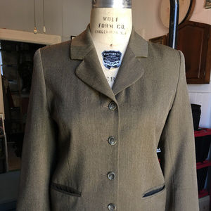 Vintage Brooks Brothers four-button wool jacket